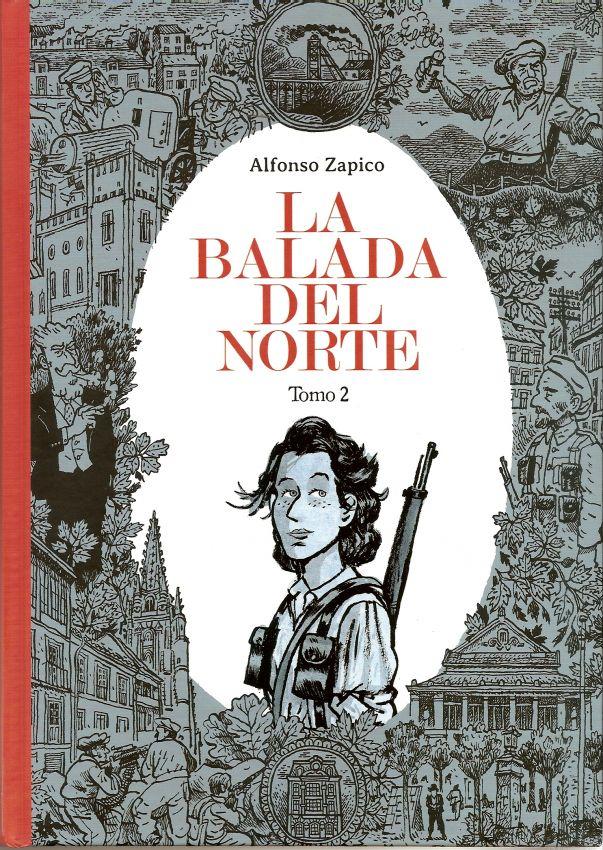 """Presentación de la novela gráfica """"La balada del norte"""""""