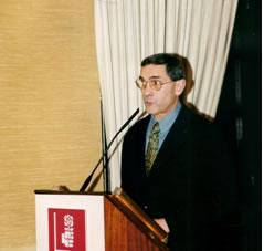 Pablo García Fernández, presidente de la Fundación José Barreiro