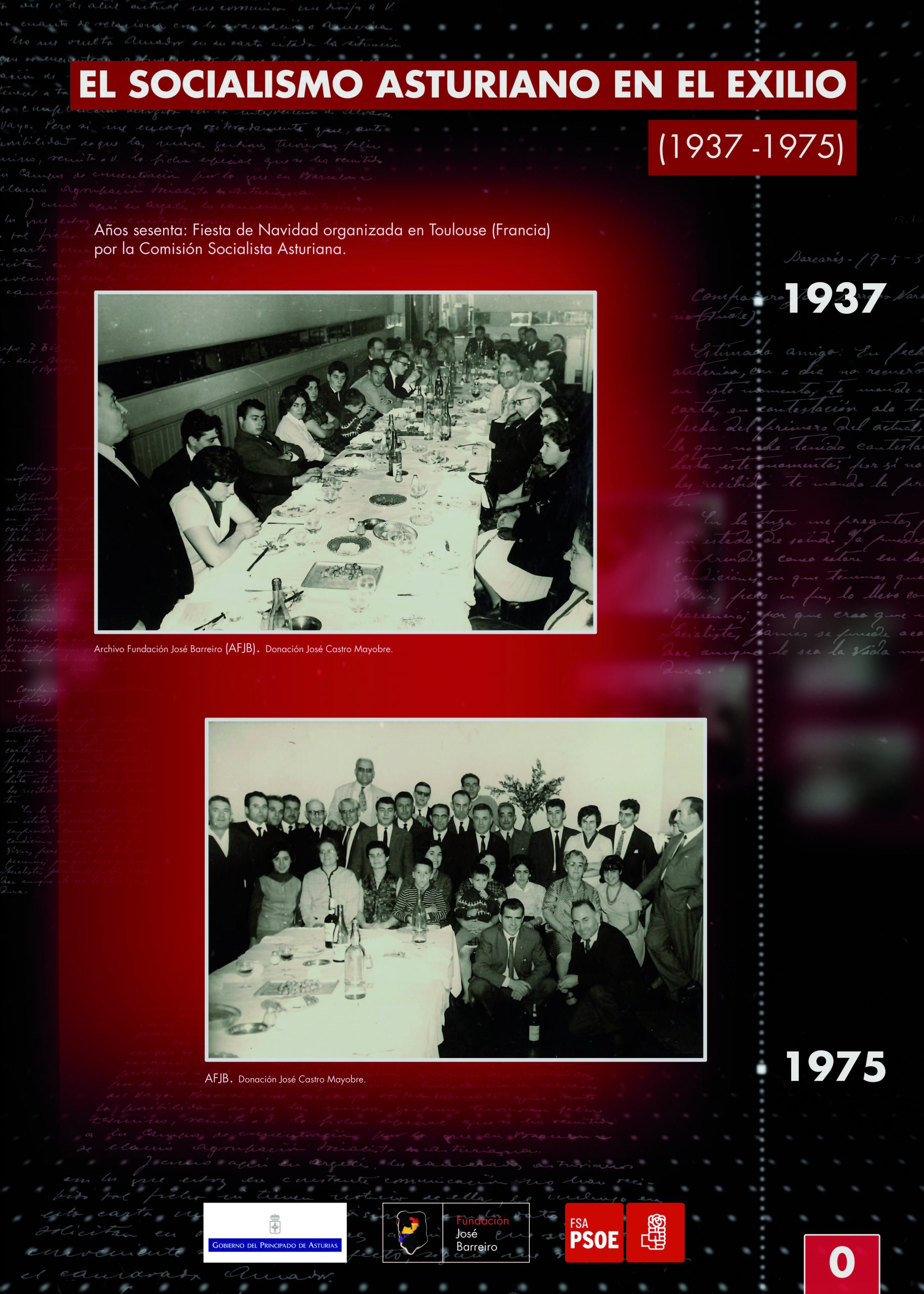 EXPOSICION «EL SOCIALISMO ASTURIANO EN EL EXILIO»