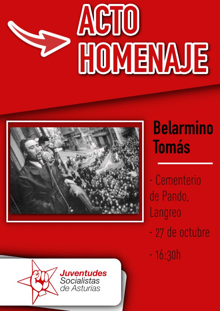 Acto Homenaje a BELARMINO TOMÁS @ Cementerio de Pando - LANGREO