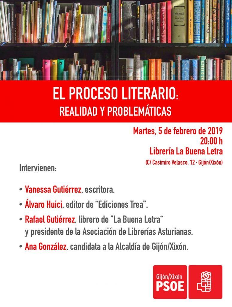 """Charla-coloquio: """"EL PROCESO LITERARIO: Realidad y problemáticas"""" @ Librería La Buena Letra"""