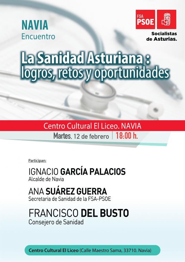 """Encuentro: """"LA SANIDAD ASTURIANA: Logros, retos y oportunidades"""" @ Centro Cultura El Liceo"""