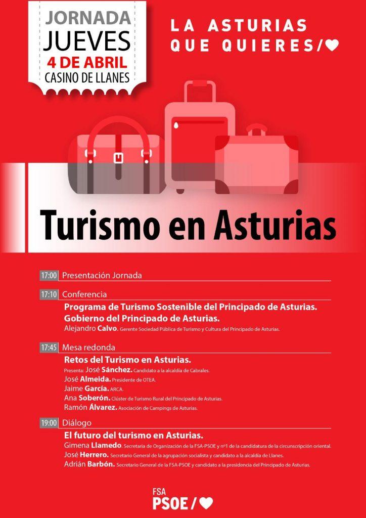 Jornada: TURISMO EN ASTURIAS @ Casino de Llanes