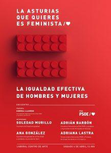 Jornada: LA IGUALDAD EFECTIVA DE MUJERES Y HOMBRES: Un objetivo prioritario para una nueva década @ Laboral Centro de Arte