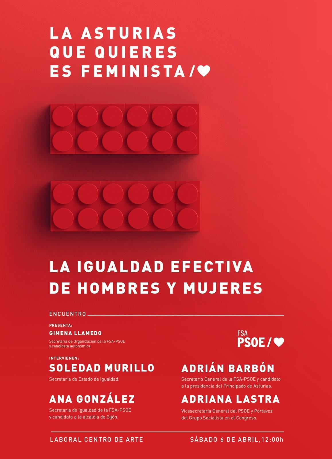 Jornada: LA IGUALDAD EFECTIVA DE MUJERES Y HOMBRES: Un objetivo prioritario para una nueva década