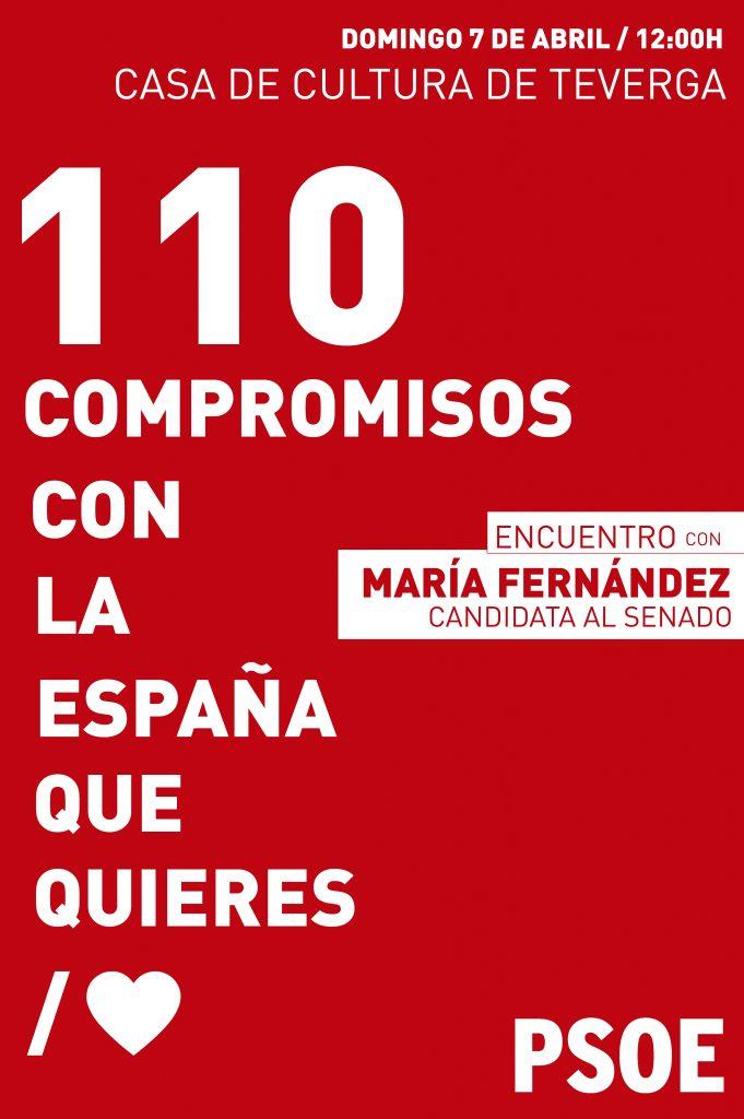 Encuentro: 110 COMPROMISOS CON LA ESPAÑA QUE QUIERES @ Casa de Cultura