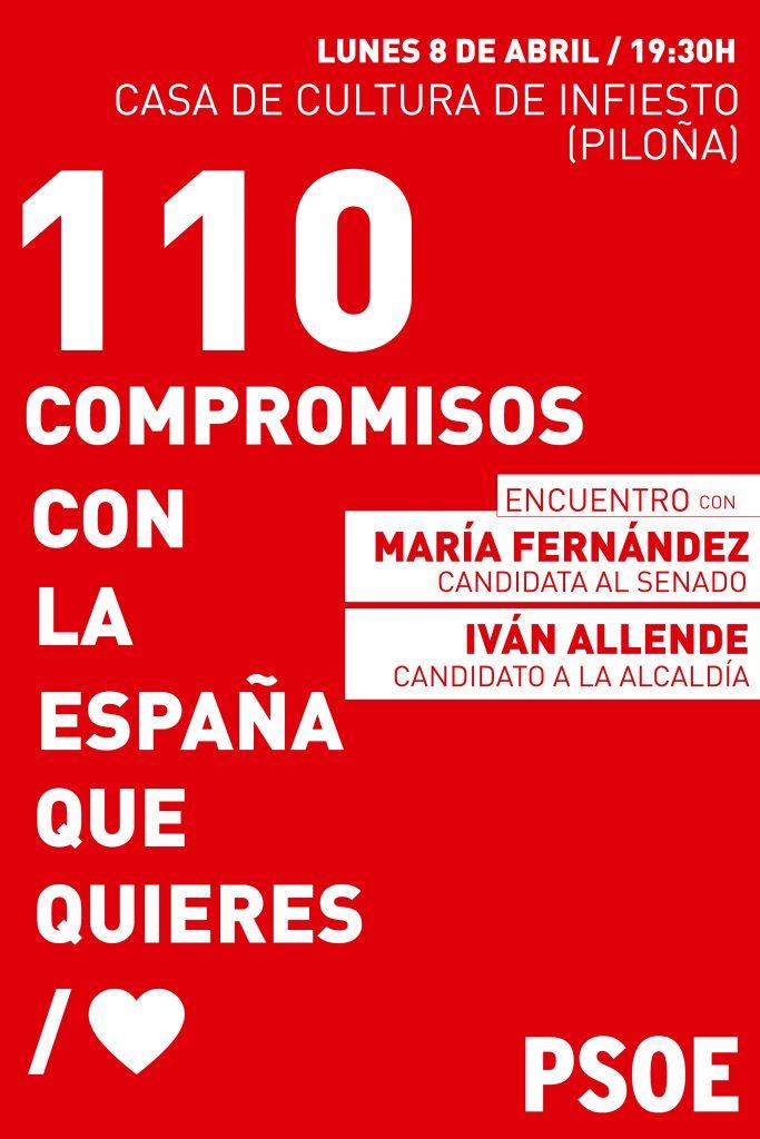 Encuentro: 110 COMPROMISOS CON LA ESPAÑA QUE QUIERES @ Casa de Cultura de Infiesto