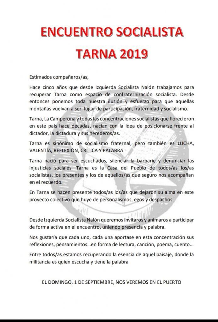 Encuentro Socialista de TARNA