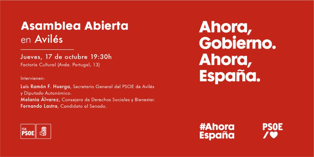 Asamblea Abierta en Avilés @ Factoria Cultural