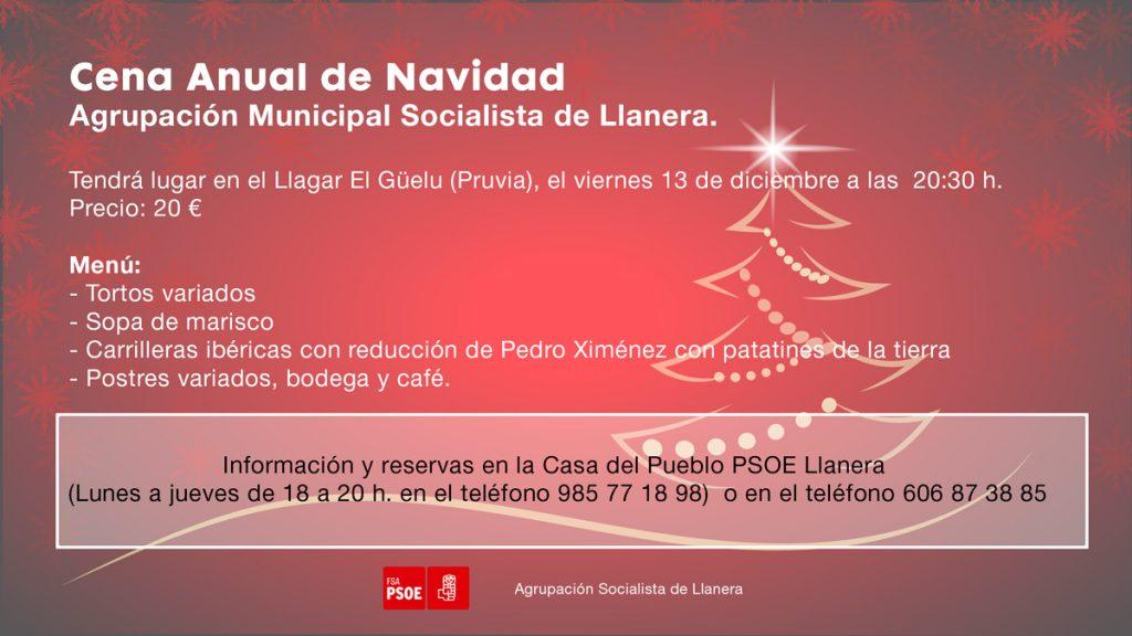 LLanera - Cena de Navidad @ Llagar El Güelu