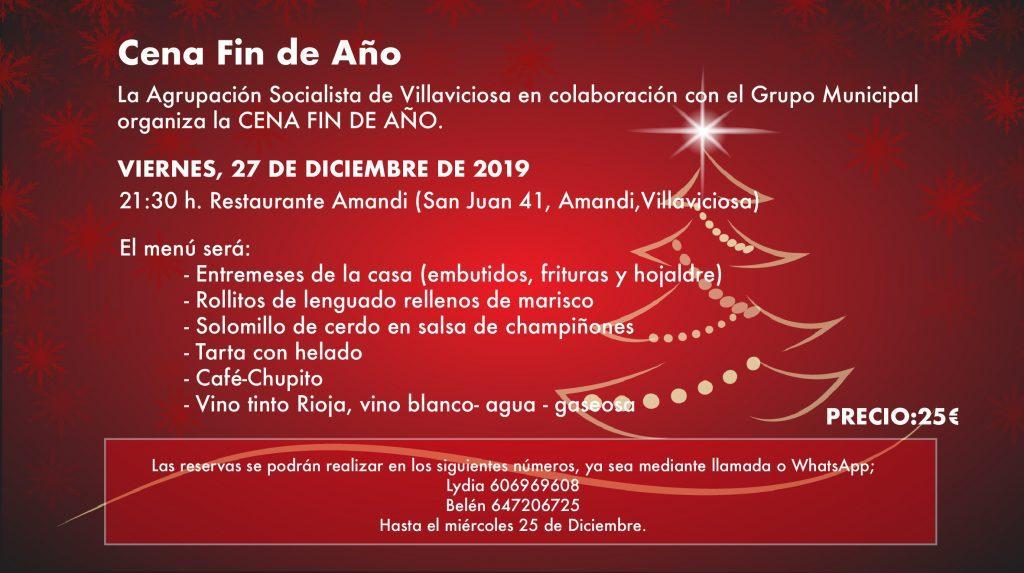 Villaviciosa - Cena FIN DE AÑO @ Restaurante Amandi