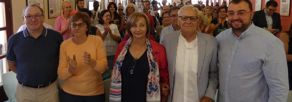 100 Días de Gobierno Socialista y presentación de Mariví Monteserín como candidata a la Alcaldía de Avilés.